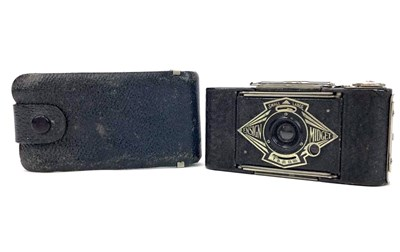 Lot 1461-AN ENSIGN MIDGET BELLOWS ACTION FOLDING CAMERA