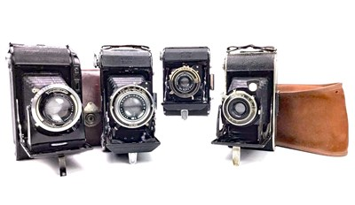 Lot 1462-A ZEISS IKON BELLOWS ACTION FOLDING CAMERA