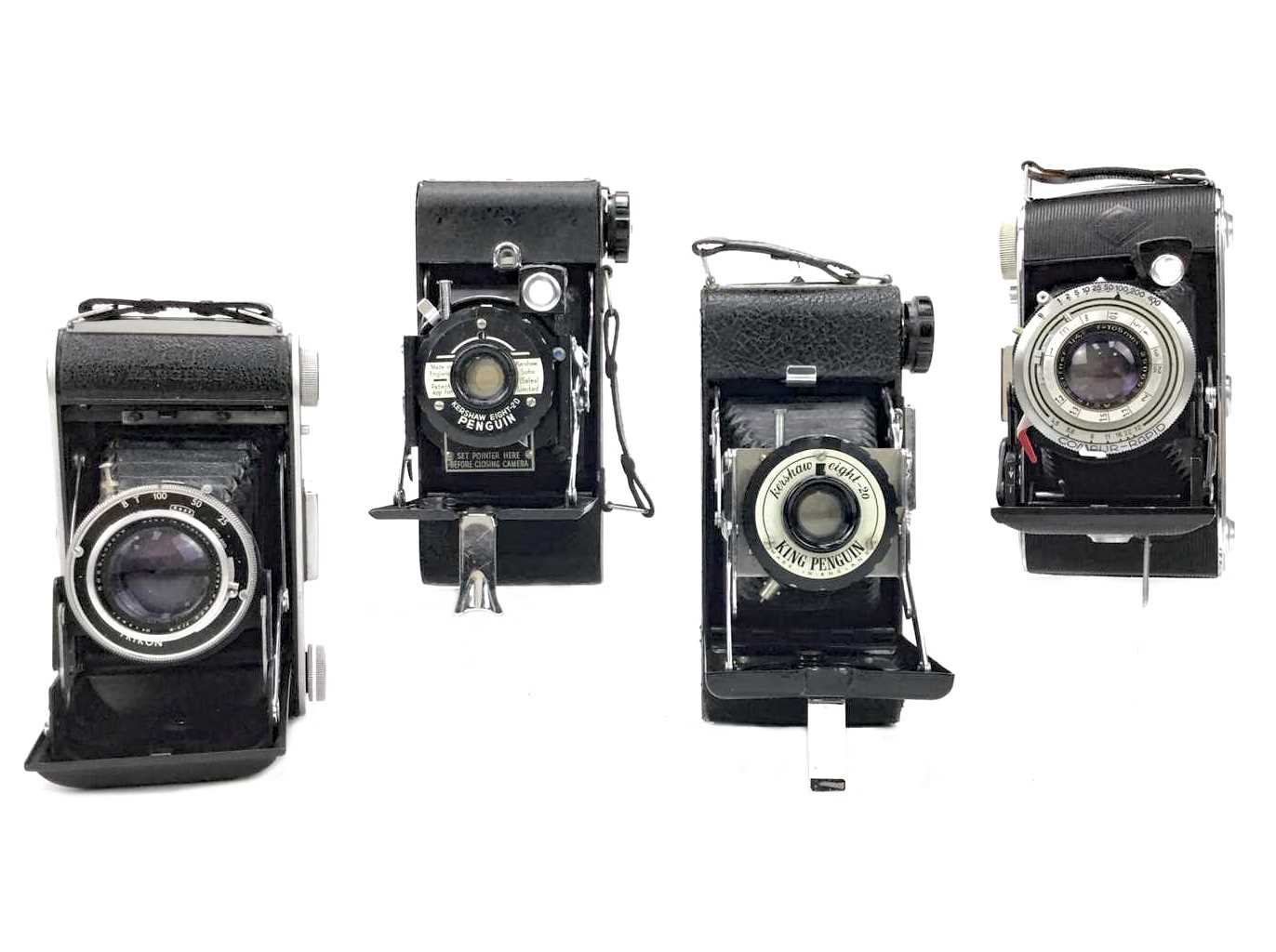 Lot 1463-AN AGFA BILLY RECORD II BELLOWS ACTION FOLDING CAMERA
