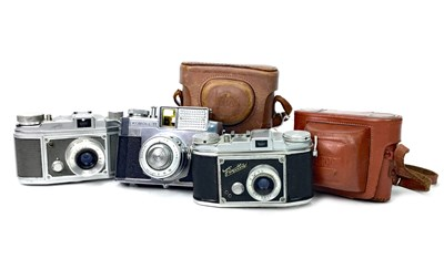 Lot 1472-A BOLSEY SLR CAMERA AND OTHER CAMERAS