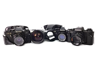 Lot 1479-A ROLLIEFLEX SL 35 E SLR CAMERA AND OTHER CAMERAS
