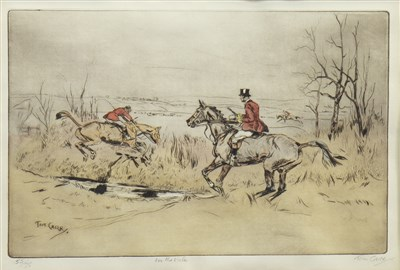 Lot 431-IN THE VALE, AN ETCHING BY TOM CARR