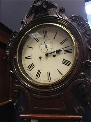 Lot 1438-AN EARLY VICTORIAN SCOTTISH DRUMHEAD CLOCK