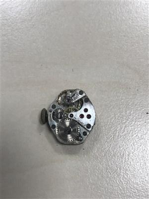 Lot 804-AN ART DECO DIAMOND COCKTAIL WATCH