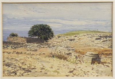 Lot 418-SAND DUNES, A WATERCOLOUR BY SAM BOUGH