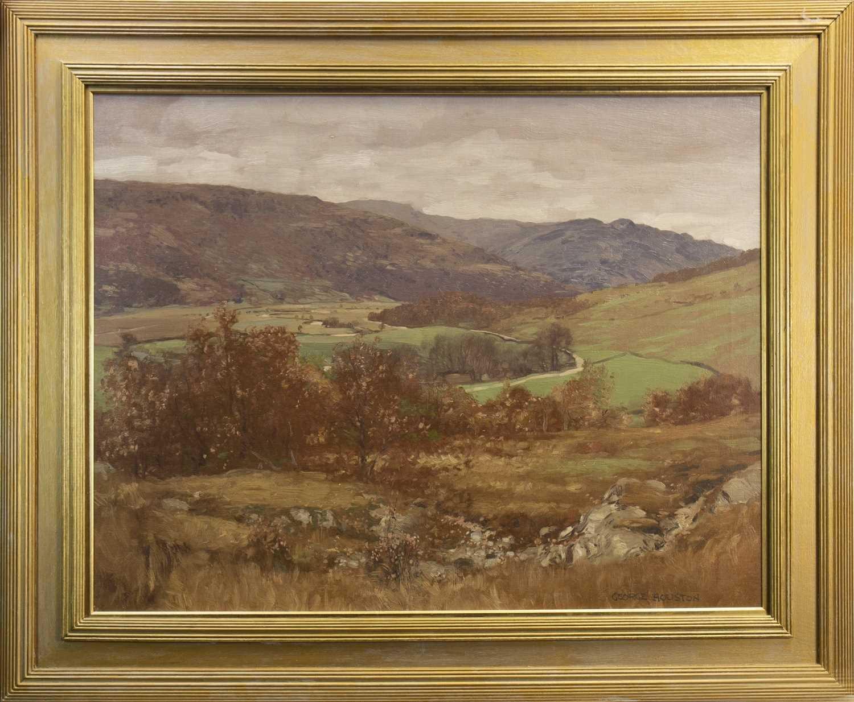 Lot 421-DEESIDE, AN OIL BY GEORGE HOUSTON