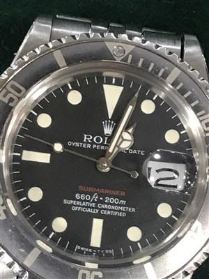 Lot 769-A GENTLEMAN'S ROLEX SUBMARINER STEEL WATCH