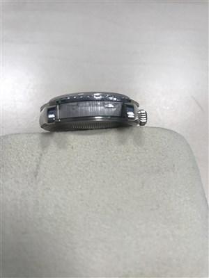 Lot 770-A ROLEX OYSTER PLATINUM DIAMOND WATCH