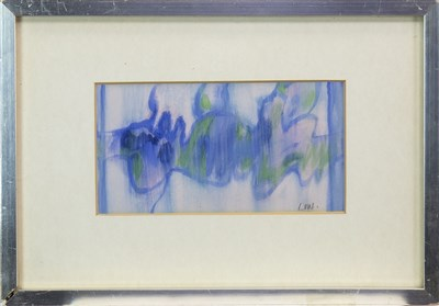 Lot 549-MARINE I, A WATERCOLOUR BY BET LOW