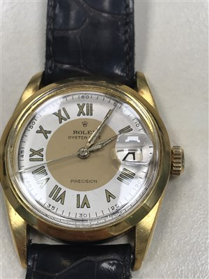 Lot 771-A GENTLEMAN'S ROLEX OYSTER DATE PRECISION WATCH