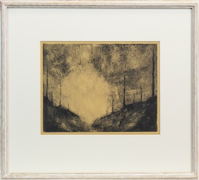 Lot 550-NEW DAWN, A MONOTYPE BY PHILIP BRAHAM