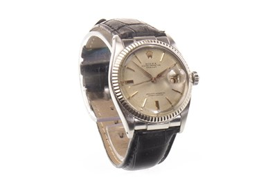 Lot 774-A GENTLEMAN'S ROLEX DATE JUST WATCH