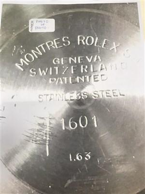 Lot 774-A GENTLEMAN'S ROLEX DATE JUST WATCH
