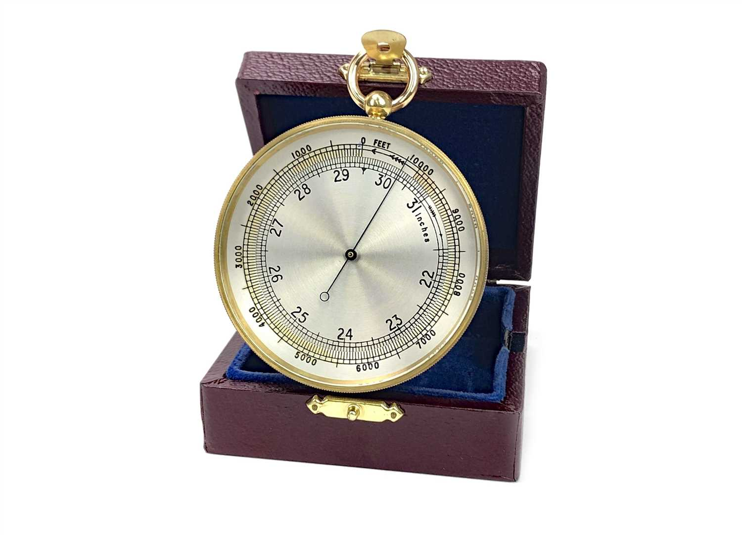 Lot 1447 - A POCKET ANEROID ALTIMETER
