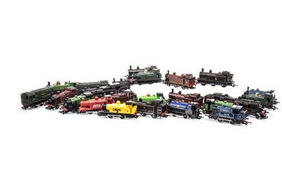 Lot 1558-A LOT OF 00 GUAGE LOCOMOTIVES