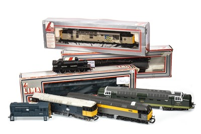 Lot 1560-A LOT OF LIMA 00 GUAGE LOCOMOTIVES