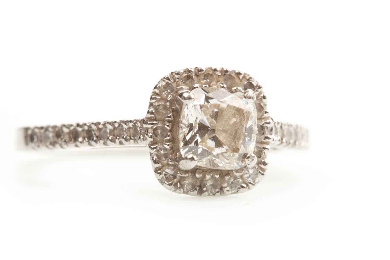 Lot 146-A DIAMOND DRESS RING