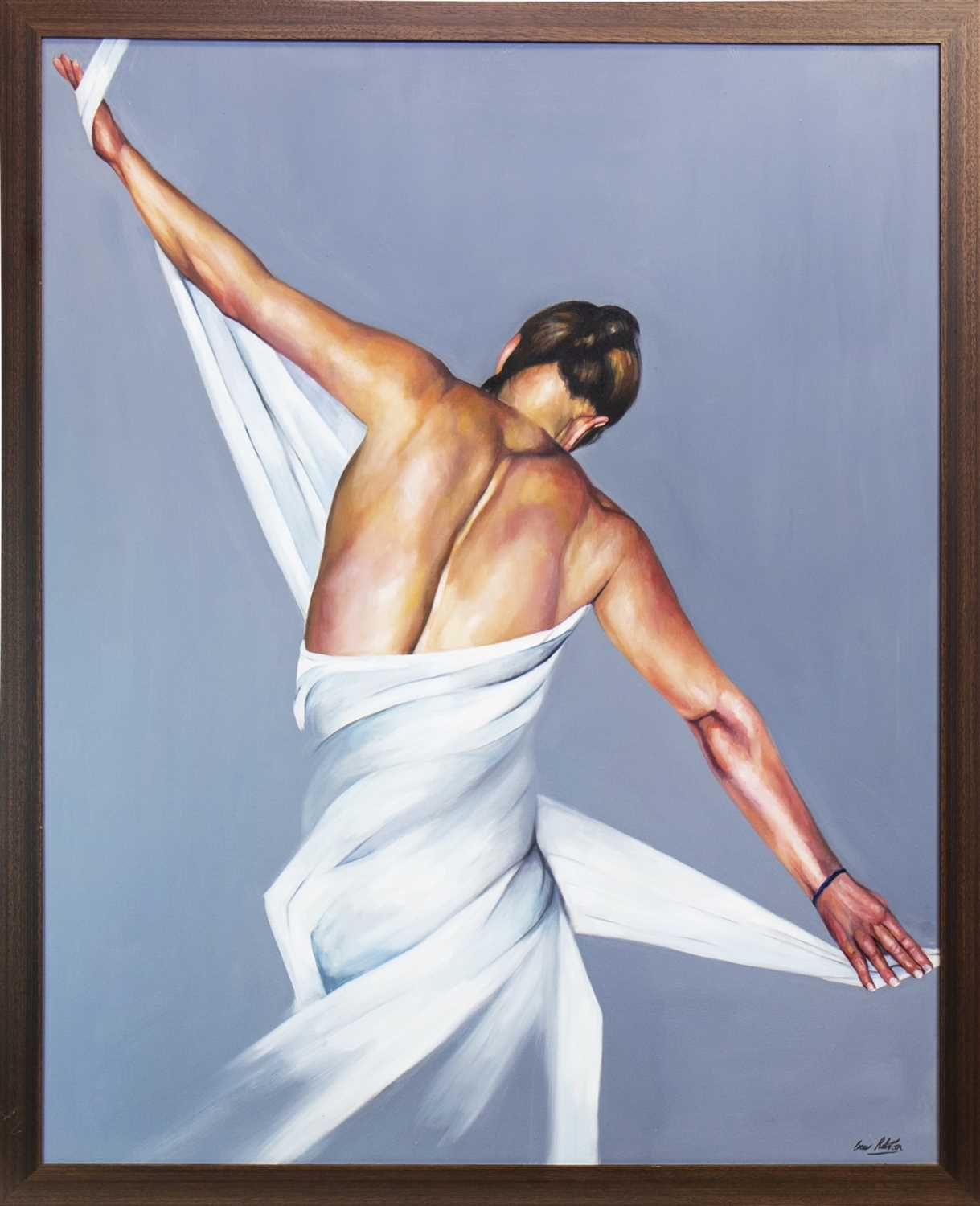 Lot 604-DANCER, AN OIL BY GREER RALSTON