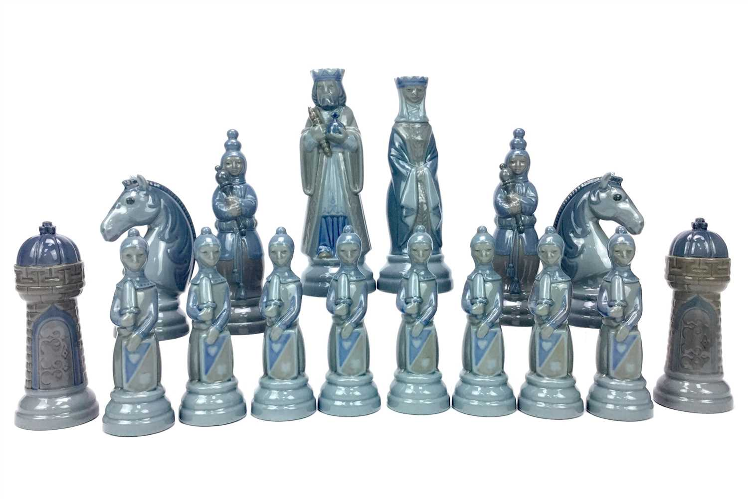 Lot 1259-A LLADRO CHESS SET