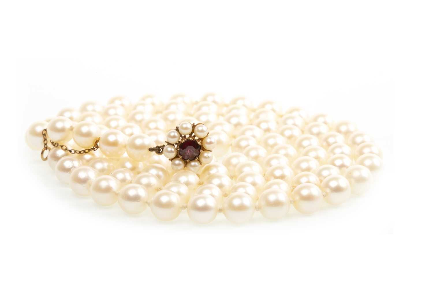 Lot 151-A PEARL NECKLACE