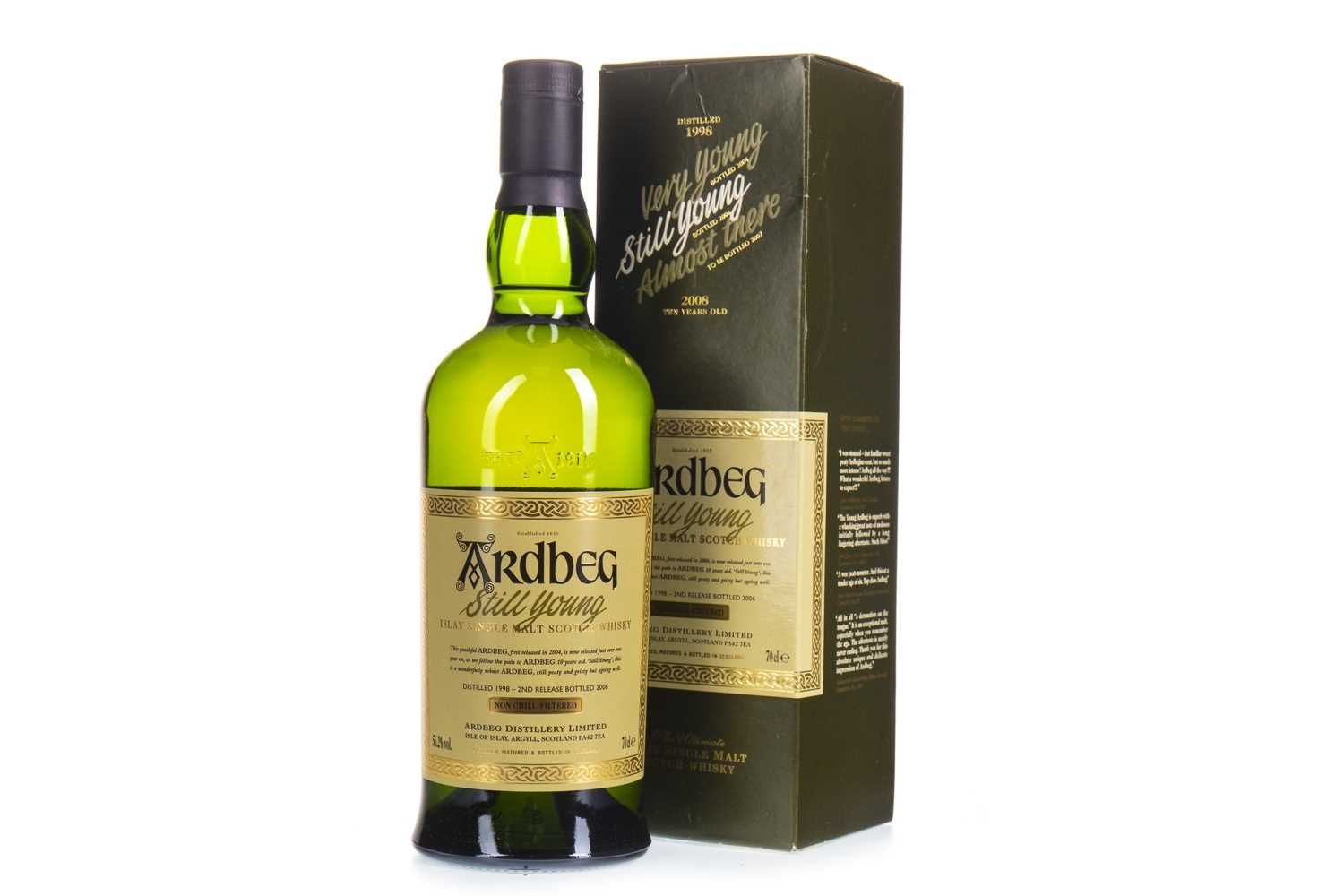 Lot 1-ARDBEG 1998 STILL YOUNG