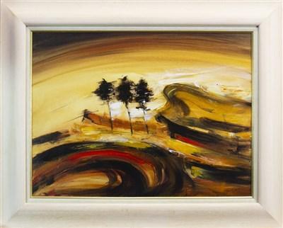 Lot 599-DUMGOYNE, AN OIL ON CANVAS BY BILL BLACKWOOD
