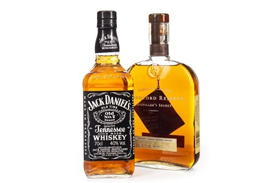 Lot 409-WOODFORD RESERVE AND JACK DANIEL'S OLD NO. 7