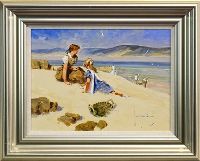 Lot 547-ACHMELVICH BAY, AN OIL BY JOHN HASKINS