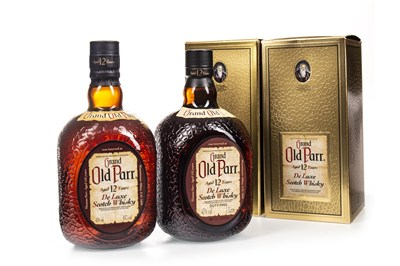 Lot 415-TWO BOTTLES OF GRAND OLD PARR AGED 12 YEARS