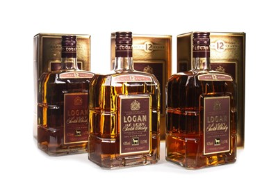 Lot 422-THREE LITRES OF LOGAN AGED 12 YEARS