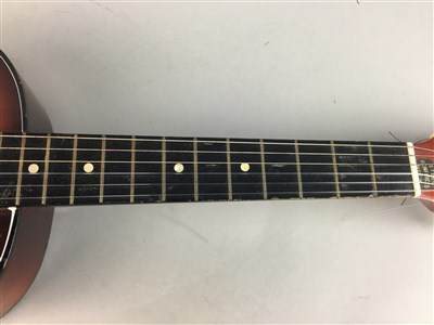 Lot 9-A LOT OF TWO GUITARS