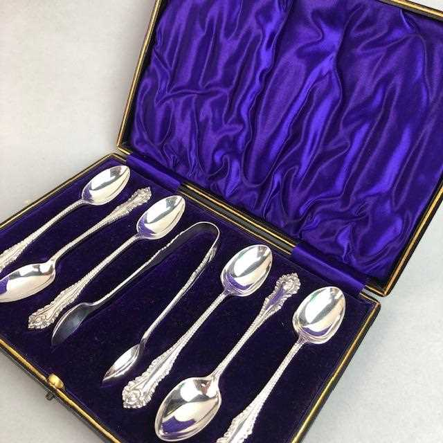 Lot 11-A LOT OF SILVER AND PLATED CUTLERY