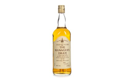 Lot 2-BENRINNES MANAGERS DRAM AGED 12 YEARS