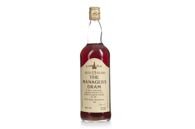Lot 5-CAOL ILA MANAGERS DRAM AGED 15 YEARS