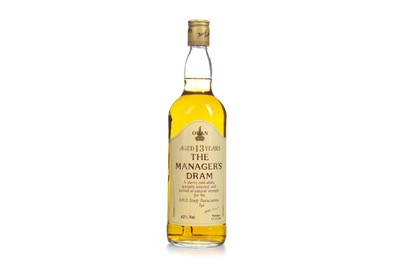 Lot 6-OBAN THE MANAGERS DRAM AGED 13 YEARS