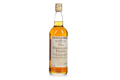 Lot 9-CRAGGANMORE MANAGERS DRAM AGED 17 YEARS