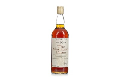 Lot 10-GLEN ELGIN MANAGERS DRAM AGED 16 YEARS