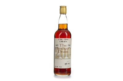 Lot 11-OBAN THE MANAGER'S DRAM 200th ANNIVERSARY AGED 16 YEARS