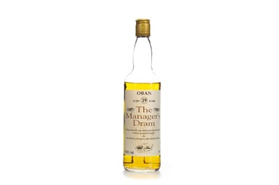 Lot 12-OBAN MANAGERS DRAM AGED 19 YEARS - LOW FILL