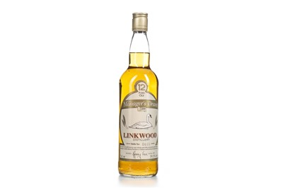 Lot 16-LINKWOOD MANAGERS DRAM AGED 12 YEARS