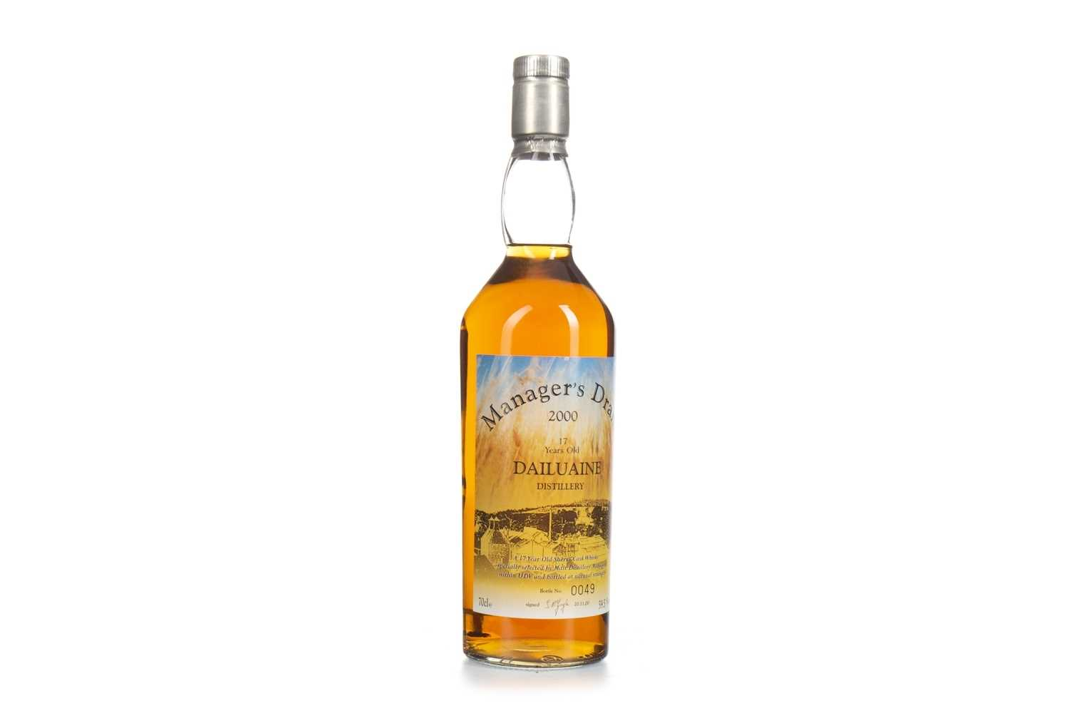 Lot 17-DAILUAINE MANAGERS DRAM AGED 17 YEARS