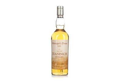 Lot 18-TEANINICH THE MANAGER'S DRAM AGED 17 YEARS