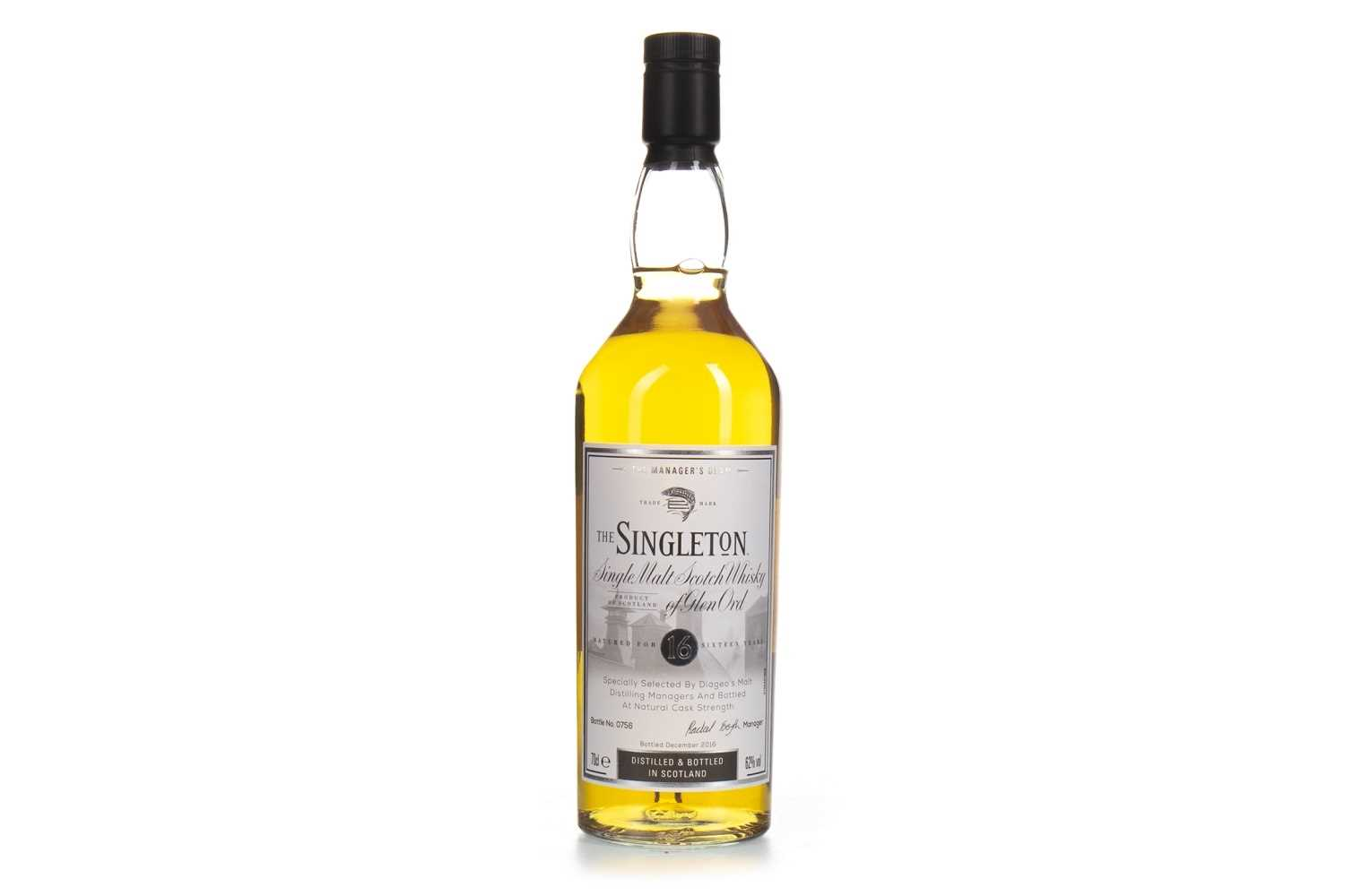 Lot 19-SINGLETON OF GLEN ORD THE MANAGER'S DRAM AGED 16 YEARS