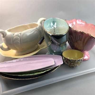 Lot 21-A LOT OF MALING AND OTHER CERAMICS
