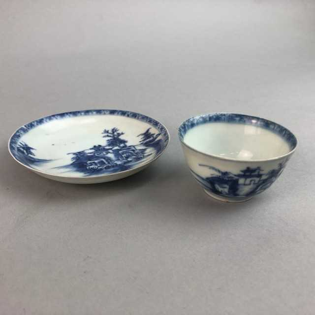 Lot 23-A CHINESE NANKING CARGO TEA CUP AND SAUCER