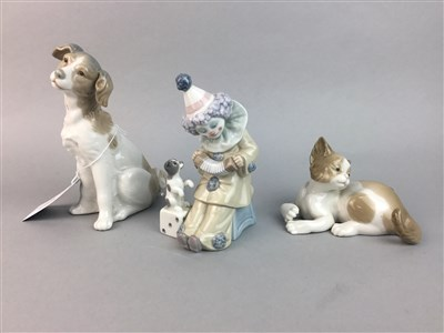 Lot 35 - A LOT OF LLADRO AND NAO FIGURES