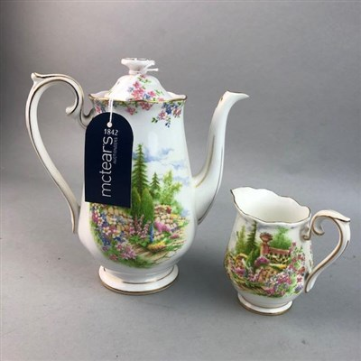 Lot 40 - A NORITAKE TEA SERVICE AND TWO COFFEE SERVICES