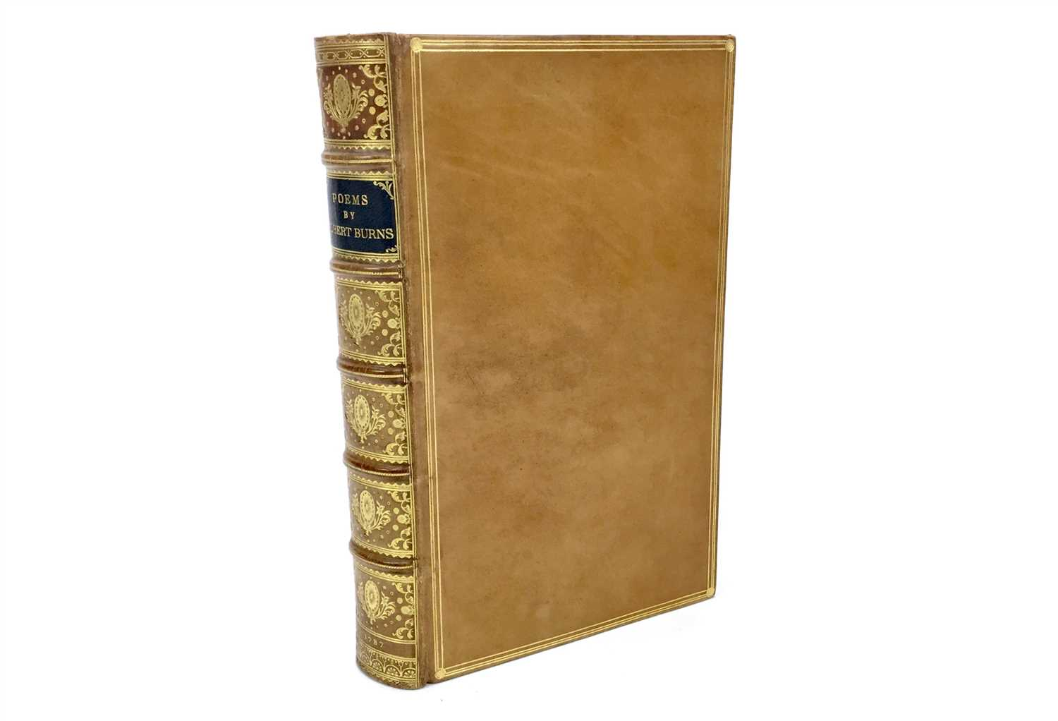 Lot 1573-POEMS, BY ROBERT BURNS