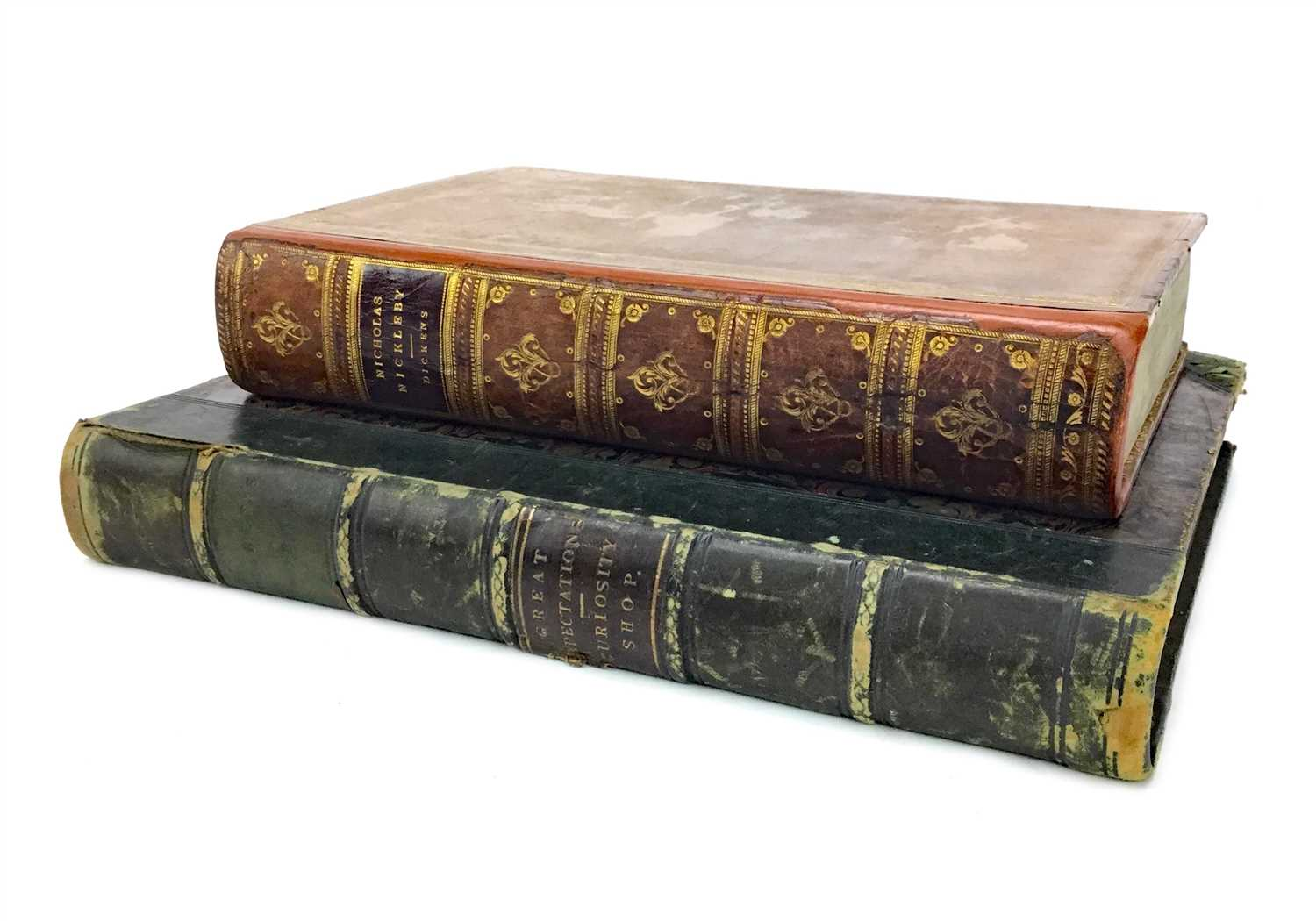 Lot 849-THE LIFE AND ADVENTURES OF NICHOLAS NICKLEBY, BY CHARLES DICKENS
