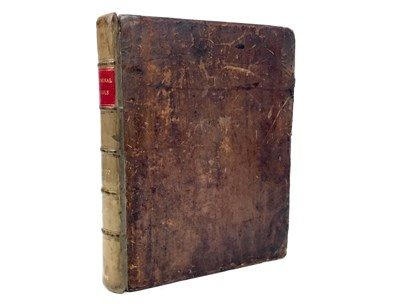Lot 1586 - A COLLECTION AND ABRIDGEMENT OF CELEBRATED CRIMINAL TRIALS IN SCOTLAND, BY HUGO ARNOT